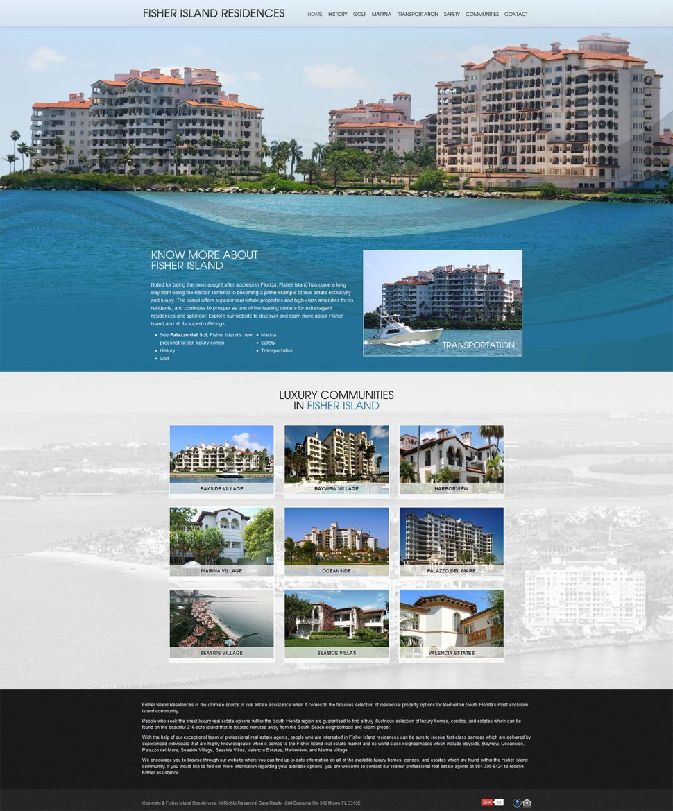 FisherIslandResidences.com